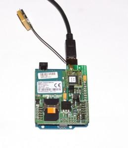 Arduino z shieldem GSM i GPS
