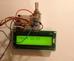 LCD kit dla Arduino w akcji