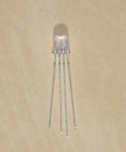 Wyprowadzenia diody RGB