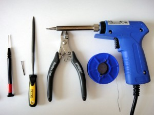 Narzędzia potrzebne do operacji