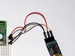 Podłączenie czytnika RFID do FTDI Friend