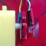 Umiejscowienie fototranzystora i diody IR