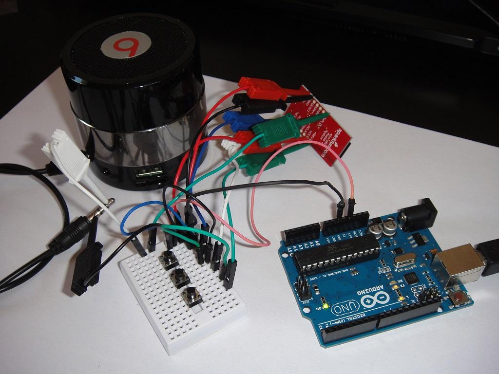 WTV020-SD jako samodzielny odtwarzacz