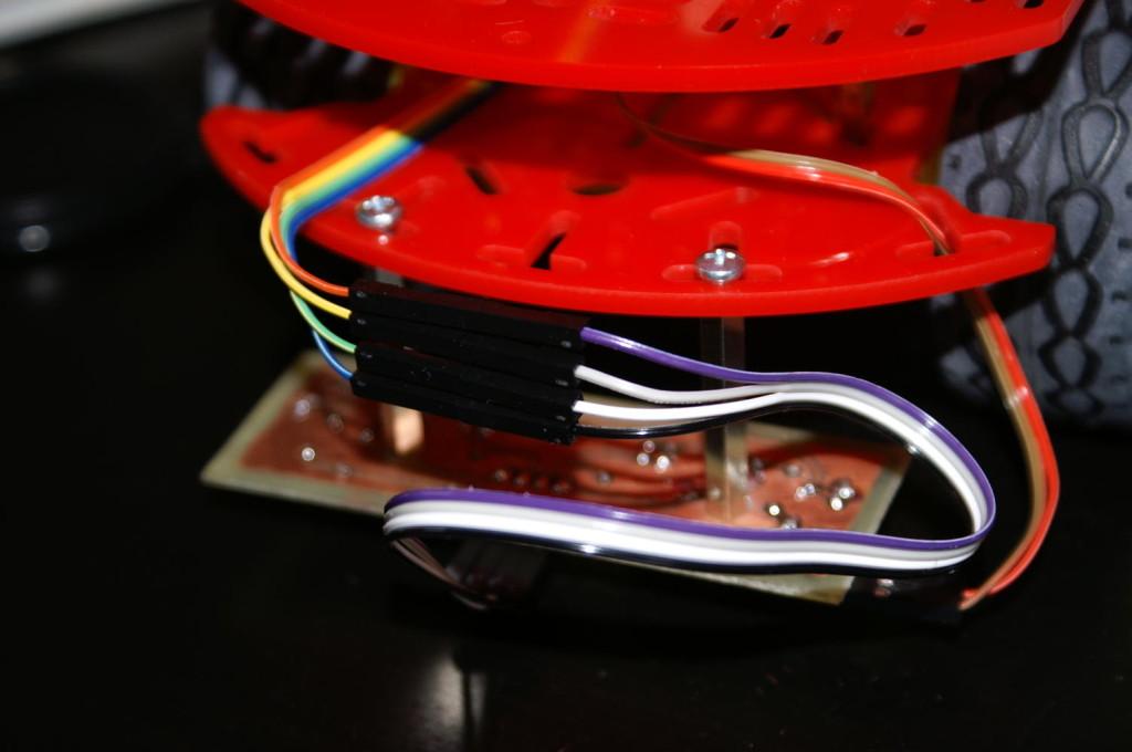 Połaczenie Arduino i płytki czujników