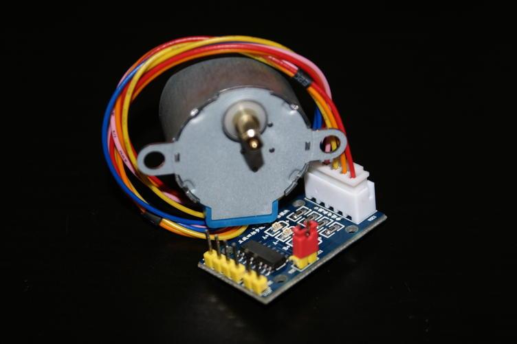 Silnik połączony ze sterownikiem