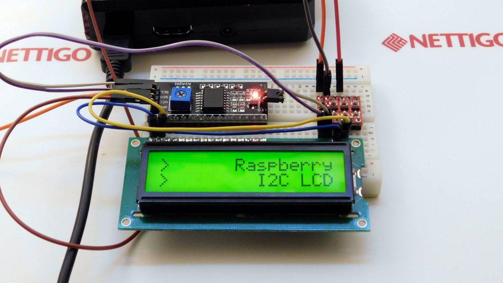 Znakowy LCD na I2C i Raspberry
