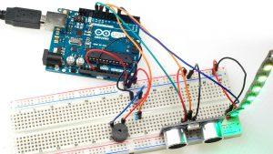 Realizacja układu miernika odległości na Arduino, HC-SR04